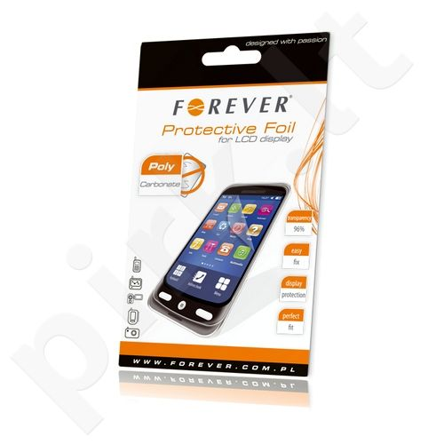 Sony Xperia E1 ekrano plėvelė  FOIL Forever permatoma