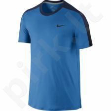 Marškinėliai tenisui Nike Team Court Crew M 644784-435