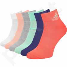Kojinės Adidas Performance Ankle Thin 6 poros W S99891