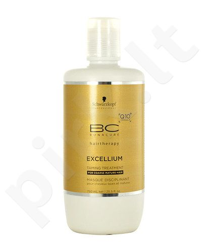 Schwarzkopf BC Bonacure Excellium Taming Treatment, kosmetika moterims, 750ml