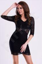 Emamoda suknelė - juoda12005-4