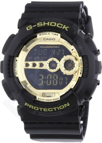 Laikrodis CASIO G-SHOCK GD-100GB-1DR SPECIAL COLOR MODEL Shock & Magnetic resistant Resin Case & Strap Auto led World time 29 zon 4 daily s Snooze Hourly Time Signal Countdown Timer Full au