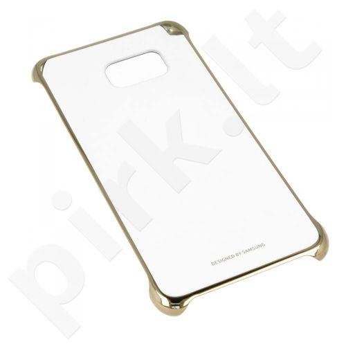 Samsung Galaxy S7 skaidrus dėklas QG930CFE auksinis
