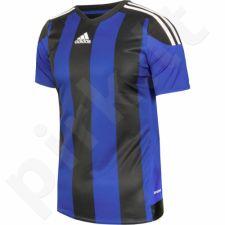 Marškinėliai futbolui Adidas Striped 15 Junior S16140