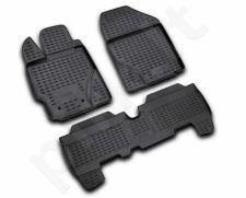 Guminiai kilimėliai 3D TOYOTA Yaris 2005-2011, 3 pcs. /L62096