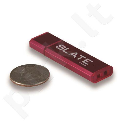 Atmintukas Patriot Slate 64GB, Raudonas