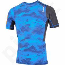 Marškinėliai treniruotėms Reebok ONE Series Elite Quik Cotton Compression M AJ0832