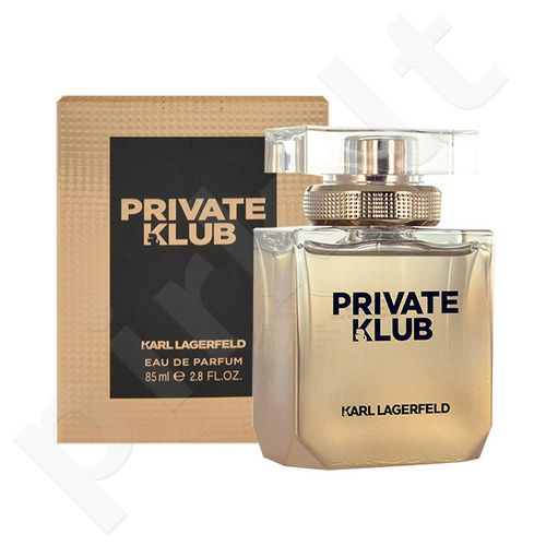 Lagerfeld Karl Lagerfeld Private Klub, EDP moterims, 25ml