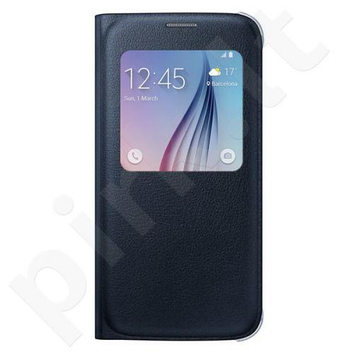 Samsung Galaxy S7 S View dėklas CG930PBE juodas