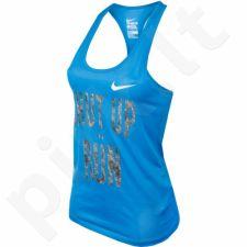 Marškinėliai Nike Core Verbiage Tank W 836074-435