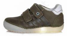 D.D. step khaki spalvos led batai 31-36 d. 0502l