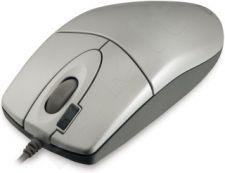 Pelė A4-Tech EVO Opto Ecco 612D sidabrinė, USB