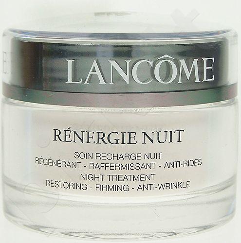 Lancôme Rénergie, Anti-Wrinkle, naktinis kremas moterims, 50ml