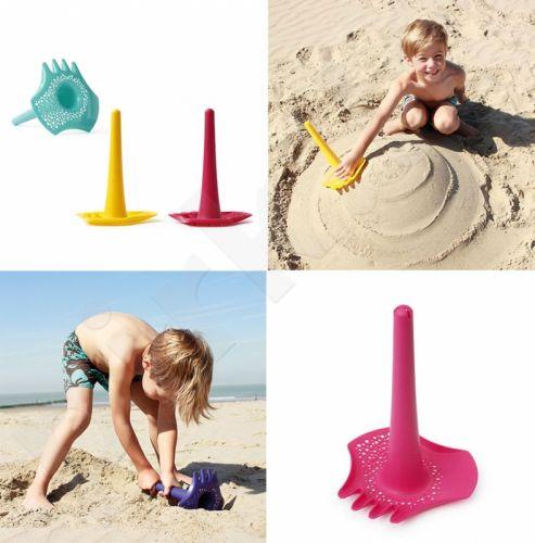 Smėlio žaislas Triplet, geltonas