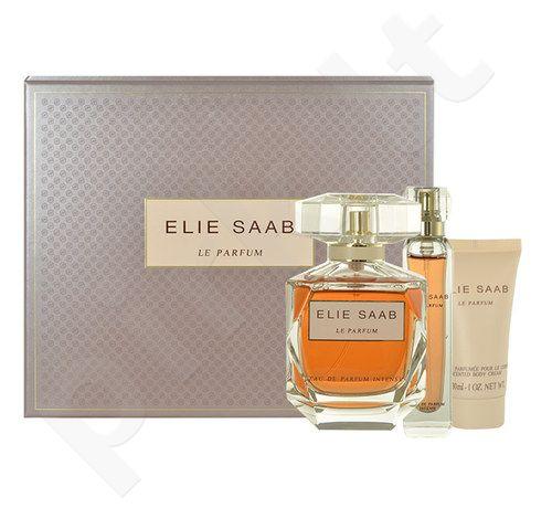 Elie Saab Le Parfum Intense rinkinys moterims, (EDP 90ml + 10ml EDP + 30ml kūno kremas)