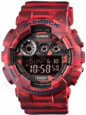 Laikrodis CASIO G-SHOCK GD-120CM-4DR CAMO PATTERN MODEL Shock & Magnetic resistant Resin Case & Strap Auto led World time 29 zon 2 multifunction s Snooze Hourly Time Signal Countdown Timer Fu