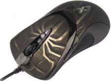 Pelė A4T EVO XGame Laser Oscar X747 Brown Fire USB