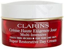Clarins Super Restorative dieninis kremas Dry Skin, kosmetika moterims, 50ml