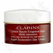 Clarins Super Restorative dieninis kremas Dry Skin, kosmetika moterims, 50ml[pažeista pakuotė]