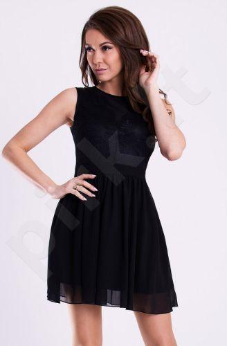 Emamoda suknelė - juoda 12007-1