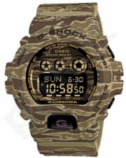 Laikrodis CASIO G-SHOCK GD-X6900CM5DR G-CLASSIC ARMY CAMO GREEN MUD Shock & Magnetic resistant Resin Case & Strap Super Illuminator World time 31 zon 5 daily s Snooze Hourly Time Signal Count