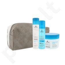 Schwarzkopf BC Bonacure drėkinantis plaukų rinkinys moterims, (šampūnas 250 ml + kondicionierius 200 ml + plaukų kaukė 200 ml + kosmetikos krepšys)