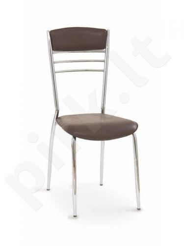 Kėdė K48, tamsiai rudos sp.