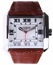 Laikrodis LOCMAN   OTTO kvarcinis data 47mm Ss Galuchat strap