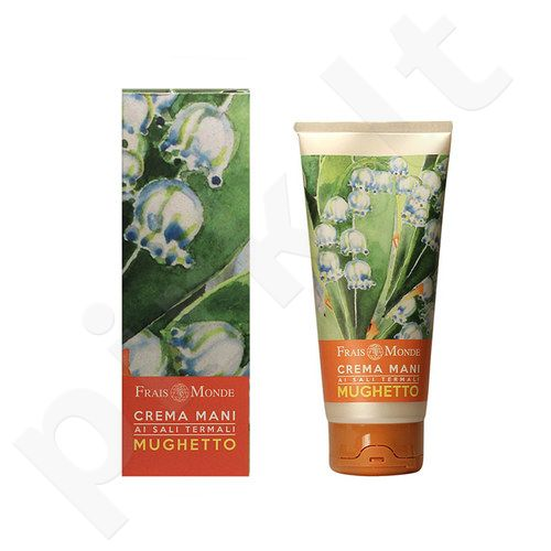 Frais Monde rankų kremas Thermal Salts Lily Of The Valley, kosmetika moterims, 100ml