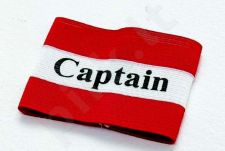 Kapitono raištis II SEN 13 red/white