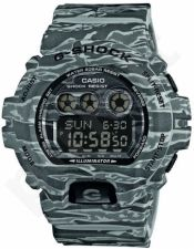 Laikrodis CASIO G-SHOCK GD-X6900CM8DR G-CLASSIC ARMY CAMO GRAY ROCK Shock & Magnetic resistant Resin Case & Strap Super Illuminator World time 31 zon 5 daily s Snooze Hourly Time Signal Count