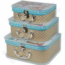 Dekoratyvinės dėžutės, 3 vnt. 104062