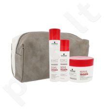 Schwarzkopf BC Bonacure atstatomasis plaukų rinkinys moterims, (šampūnas 250 ml + kondicionierius 200 ml + plaukų kaukė 200 ml + kosmetikos krepšys)