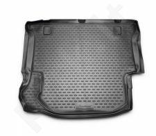 Guminis bagažinės kilimėlis JEEP Wrangler 2007-> (4 doors) black /N20009