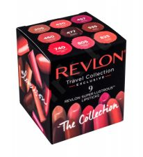 Revlon Creme, Super Lustrous, rinkinys lūpdažis moterims, (lūpdažis + lūpdažis 430 + lūpdažis 457 + lūpdažis 460 + lūpdažis 477 + lūpdažis 535 + lūpdažis 740 + lūpdažis 805), (205 Champagne On Ice)