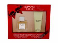 Vera Wang Grean Tea and Pear Blossom, Embrace, rinkinys tualetinis vanduo moterims, (EDT 30 ml + kūno losjonas 75 ml)
