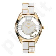 Moteriškas laikrodis Storm Pizaz Gold White