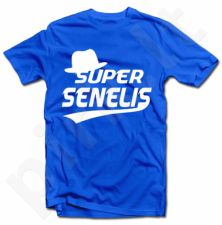 "Marškinėliai ""Super SENELIS"""
