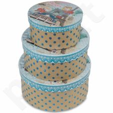 Dekoratyvinės dėžutės, 3 vnt. 104077