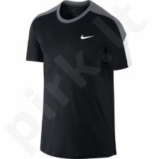 Marškinėliai tenisui Nike Team Court Crew M 644784-010