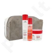 Schwarzkopf BC Bonacure atstatomasis plaukų rinkinys moterims, (šampūnas 250 ml + purškiamas kondicionierius 200 ml + plaukų kaukė 200 ml + kosmetikos krepšys)