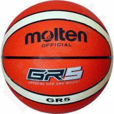 Krepšinio kamuolys Molten GR5-OI