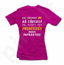 """Moteriški marškinėliai """"Mes princesės"""""""