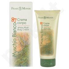 Frais Monde Muschio Bianco 87 White Musk kūno kremas, kosmetika moterims, 200ml