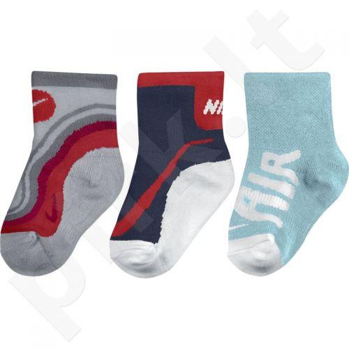 Kojinės Nike Graphic 3 poros Kids SX4813-945