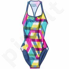 Maudymosi kostiumėlis Adidas Allover Print W S93146