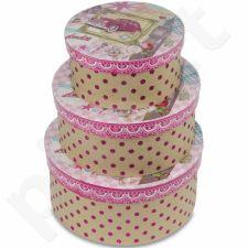 Dekoratyvinės dėžutės, 3 vnt. 104078