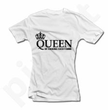 """Moteriški marškinėliai """"Queen of Fucking Everything"""""""