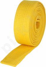 Diržas budo 2,4m geltonas
