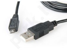 Equip micro USB 2.0 cable AM -> MBM5P 1.8m black